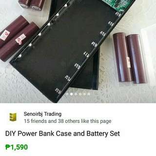 DIY powerbank set (with batteries)