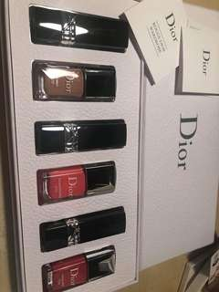 Dior Lipstick and Nails polish set