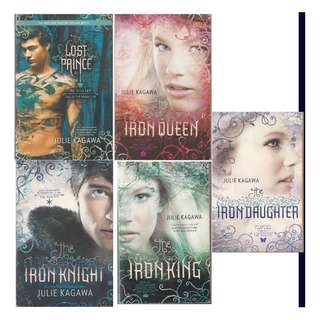 BF: Julie Kagawa - Iron King Daughter Queen Knight Lost Prince Series