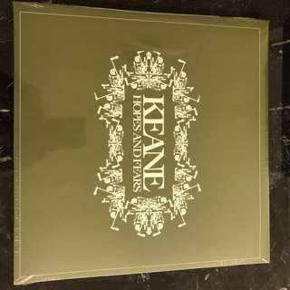 Keane. - Hopes and. Fears. Vinyl Lp. New