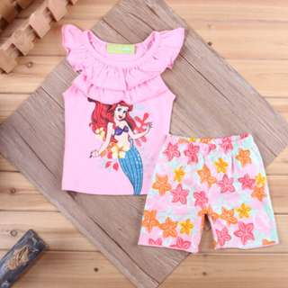 Ariel Sleeveless 2pc Set