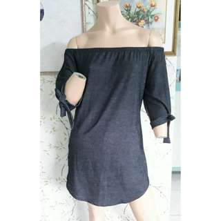 Denim Soft Cotton Dress