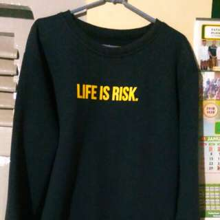 Sweather Life is Risk Recluse Plan