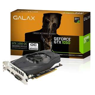 BNIB - GALAX GeForce® GTX 1050 OC 2GB GDDR5 GRAPHIC CARD