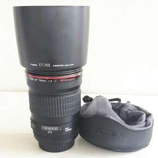 Canon ef 135mm f2L