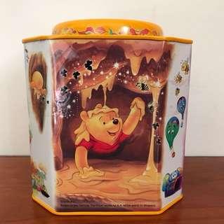 小熊維尼收納鐵盒