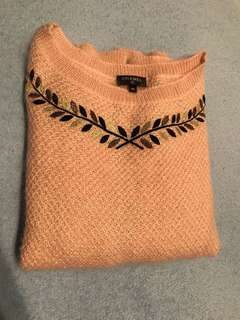 Chanel cashmere pink top Sz 40