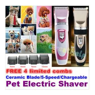 Pet Shaver Razor Grooming Clipper