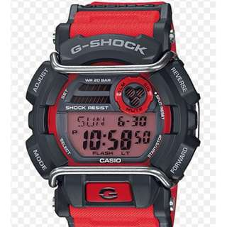 Casio G-Shock GD-400 Red Original Autographed by Kikuo Ibe (Father of G-Shock)