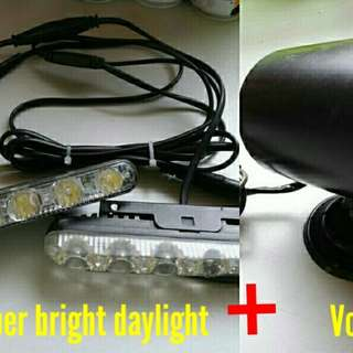 LED Daylight (super white) + Volts gauge
