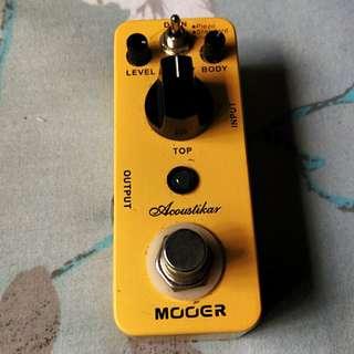 Mooer Acoustikar acoustic simulator