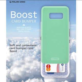 Samsung LG iphone Boost slider phone bumper case