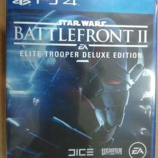 PS4 Star Wars Battlefront II Elite Trooper Deluxe Edition