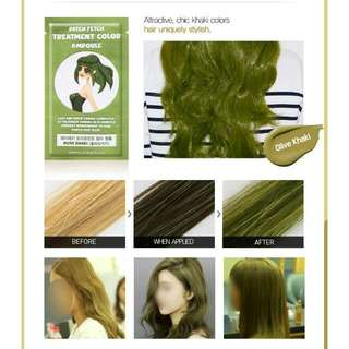 Hair Color Treatment Ampoule