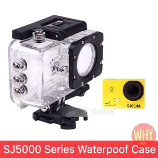 Original SJCAM SJ5000 wifi/SJ5000plus/SJ5000X Underwater Housing Waterproof Case