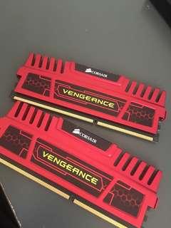 CORSAIR VENGEANCE 8GB KIT DDR3