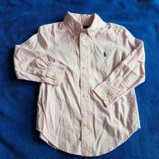 Ralph Lauren Boy's Long Sleeve Shirt