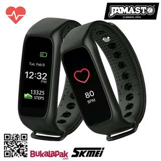 Skmei L30T Smart Band - Smart Bracelet - Jam Tangan Pintar - Heart Rate - Pedometer - Calories - Android/IOS