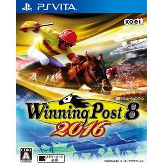 [USED] PS Vita Game: Winning Post 8 2016