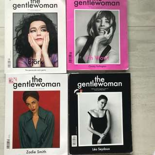 The gentlewoman 2012-2016