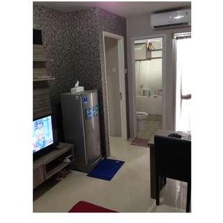 Sewa Apartemen Bassura City Tower F Tipe 2BR Full furnish 48jt/thn