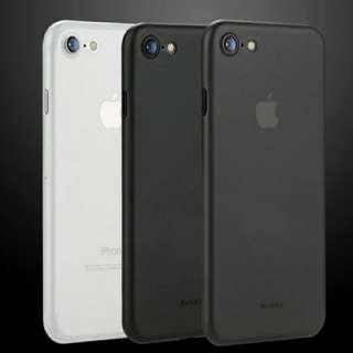 蘋果 iphone 7 / 8 磨砂全包邊超薄防摔套