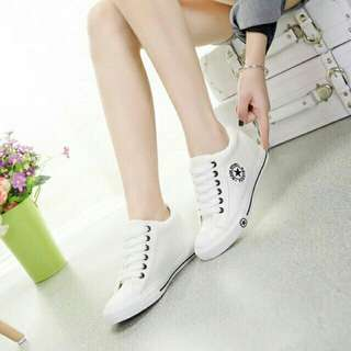 Korean hide Heels shoes