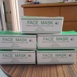 口罩😷 50PCS a pack