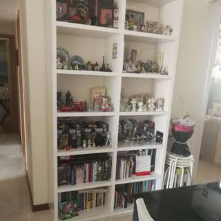 White bookshelf for give away