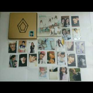 Albums and Photocards Official