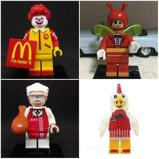 For Sale Custom Minifigure Mascots