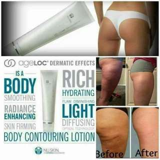 Dermatic Effect Lotion for break down the fat.