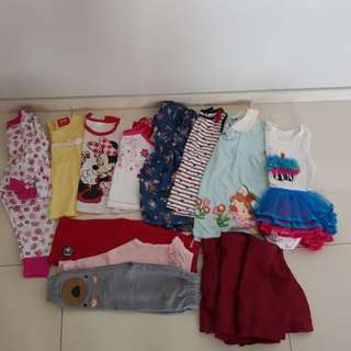 Baby Girl Clothes 18-24mths
