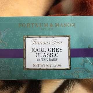 Fortnum & Mason Earl Grey Tea Bags 伯爵茶茶包