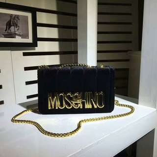 Moschino Chain Clutch Bag - Free International Shipping