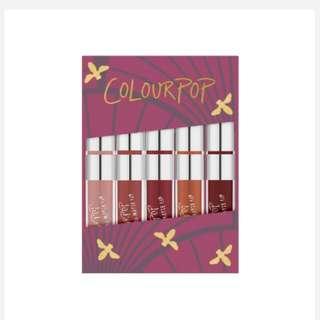 Authentic Colourpop It's Vintage Mini Size Lipkit