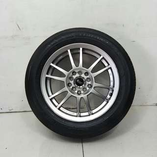 15 '' Sport Rim With Tyre 5x100 5x114.3 (SR939)