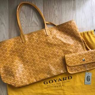 Preowned Goyard PM Yellow