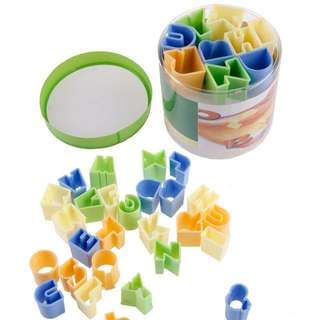 Cookie Cutter Alphabeth 28pcs