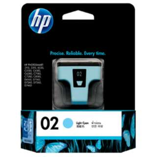 HP 02 Light Cyan Ink Cartridge (C8774WA)