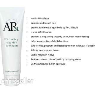 AP-24 Fluoride Whitening Toothpaste