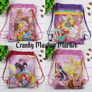 Winx Club Kid's Drawstring Bag (CMM-KDB)