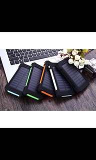BNIB 30000mAh Waterproof Solar Powerbank / Portable Charger