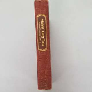 Grimms' Fairy Tales Vintage Book 1946 Hardcover