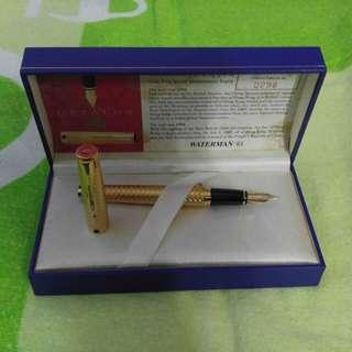 WATERMAN1997香港回歸紀念18K度金鋼筆