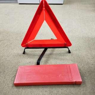 Car triangle plate