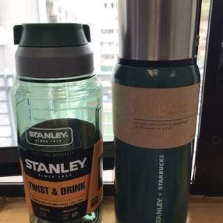 Stanley水樽及Starbucks x stanley保温瓶