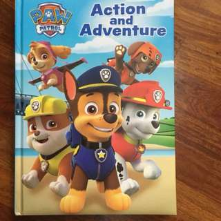 Paw patrol hardcover book - 3 tales