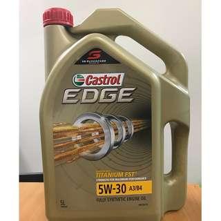 Castrol Edge 5w30 engine oil