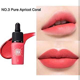 Peripera Ink The Cloud Velvet #3 Pure Apricot Coral